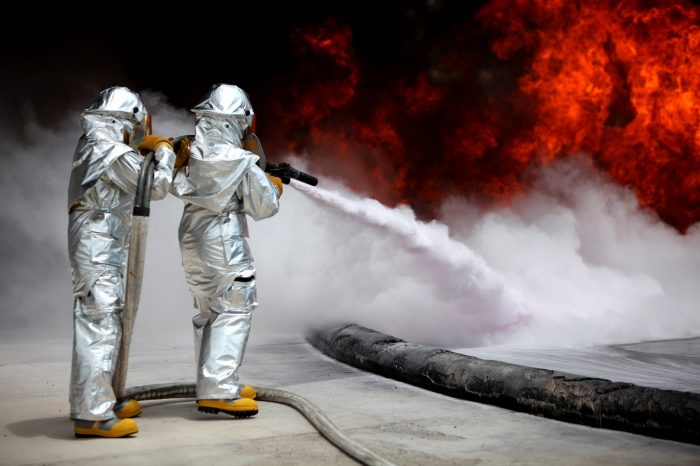 fire cleanup safety