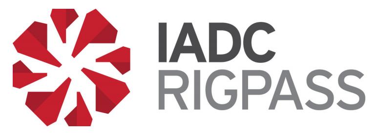 IADC RigPass®